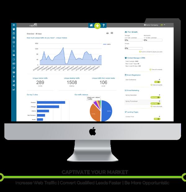 Captavi Platform All-in-One Digital Marketing Automation Platform